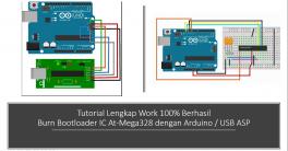 Tutorial Arduino Burn Bootloader Atmega 328 100% Successful