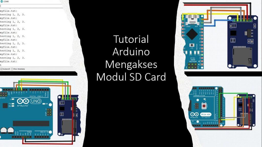Tutorial Arduino Mengakses Modul SD Card
