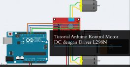 Tutorial Program Arduino Kontrol Motor DC L298N
